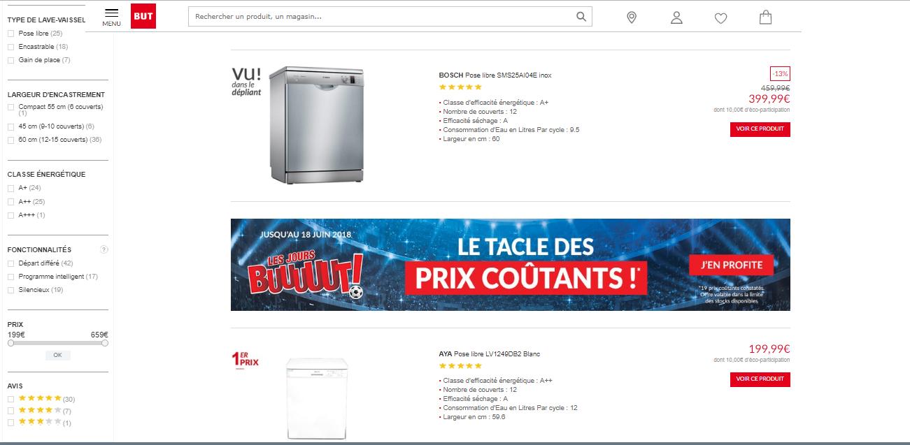 Lave vaisselle But : Soldes sur les Meilleurs Modèles-guide d'achat
